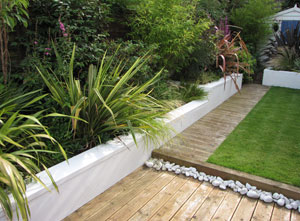 conceptgardensdesign split level garden conceptgardensdesign small garden - Garden Design Uk