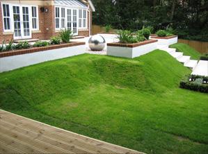 ConceptGardensDesign Split Level Garden ...